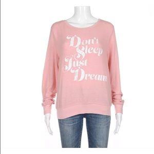 Wildfox pink sweatshirt XS sweater just dream